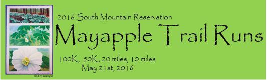 Mayapple Trail Runs Logo 2016