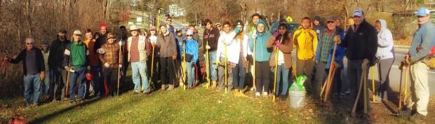 WO Lenape Extension Trail Work No. 21, 2015