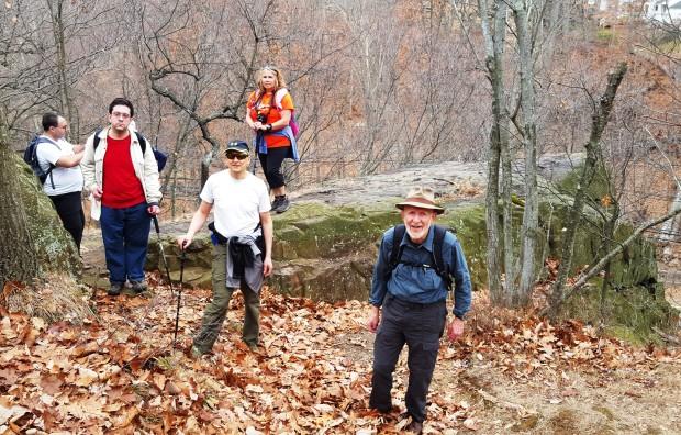 Dave H's Border Patrol hike, TB Rock, 20151212_112713