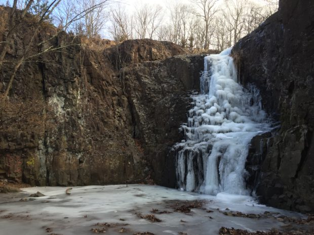 South Mountain Conservancy's image of Hemlock Falls at Southern Mountain Reservation
